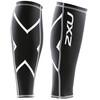 2XU Compression Calf Guards Unisex Black/White